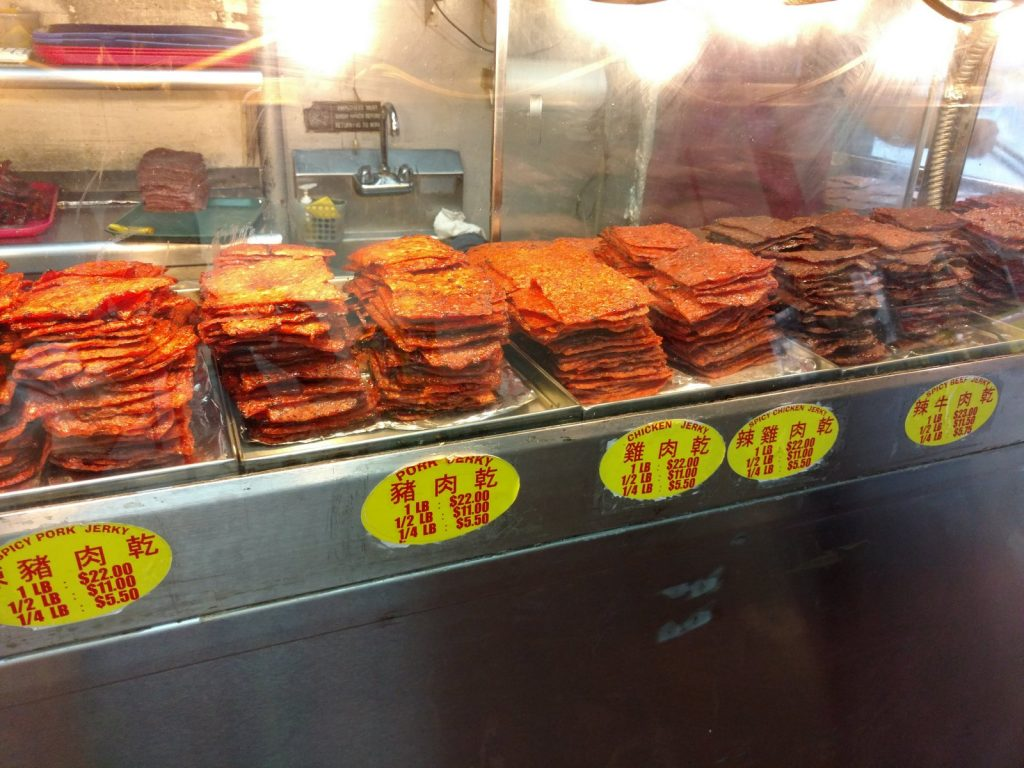 Spicy Pork, Chicken, and Beef Jerky